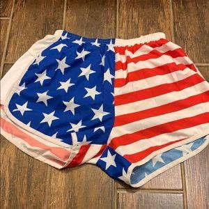 boa Shorts - B.O.A. American flag shorts